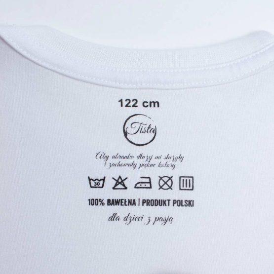 Biała bawełniana koszulka
