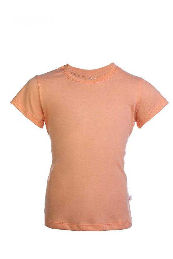 Bawełniana koszulka w kolorze łosiowym