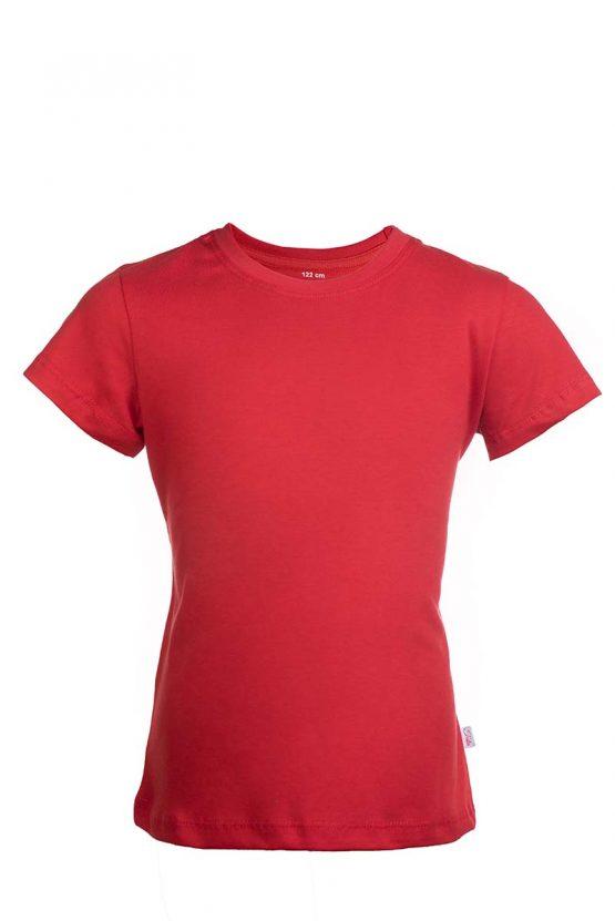 Czerwona bawełniana koszulka T-Shirt