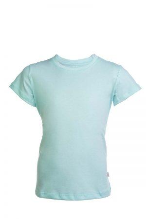 Bawełniana koszulka w kolorze miętowym