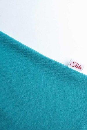 Niebieska koszulka wszywka
