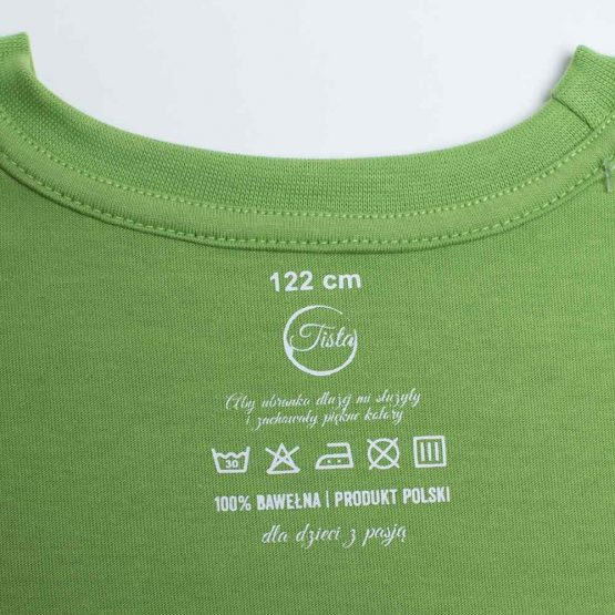 Metka zielonej koszulki
